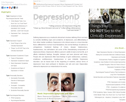 depressiond
